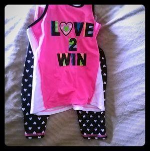 Other - Girls summer set shirt and shorts
